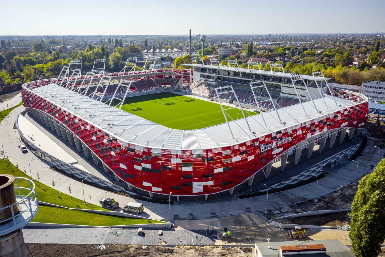 Bozsik Stadion: egyre közelebb a kivitelezés vége
