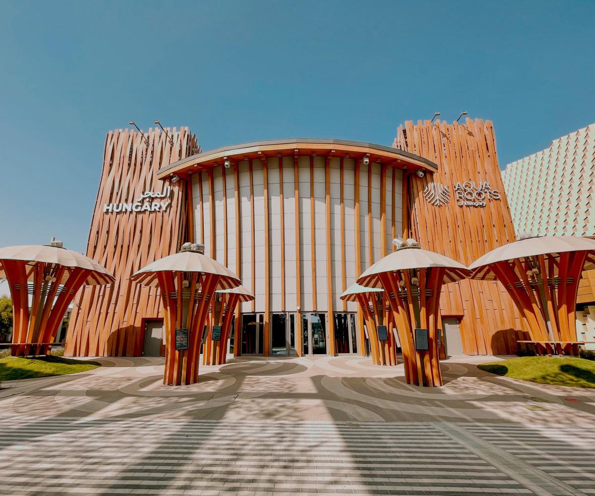 Különleges, Makovecz Imre stíllusában épült pavilonnal mutatkozik be Magyarország a Dubaji Világkiállításon